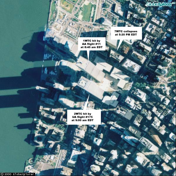 Map Of World Trade Center Before 9 11.Maps Of The September 11th Attacks
