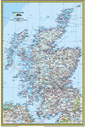 National Geographic Scotland Wall Map