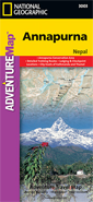 NG ADVENTUREMap of Annapurna