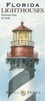 Florida Lighthouses - Illustrated Map & Guide