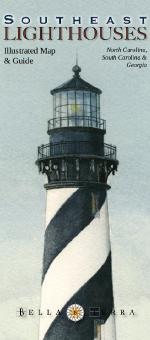 Southeast Lighthouses - Illustrated Map & Guide