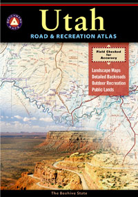 Utah Road and Recreation Atlas