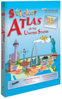 USA Sticker Atlas