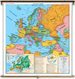 Map Of Europe With Capitals