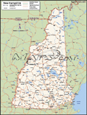New Hampshire Deluxe County