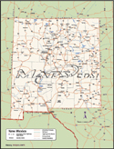 New Mexico Deluxe County