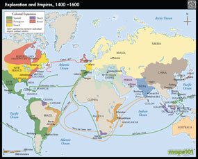Exploration and Empires, 1400-1700