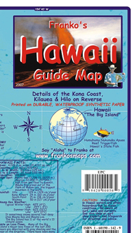Hawaii Guide Map