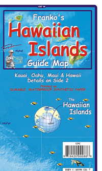Hawaiian Islands Guide Map