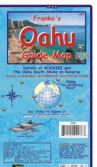 Oahu Guide Map