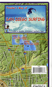 San Diego Surf Map