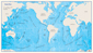 World Ocean Floor Wall Map
