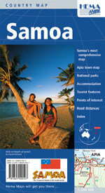 Samoa Travel Map