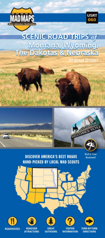 Montana, Wyoming, Dakotas, and Nebraska Scenic Road Trip