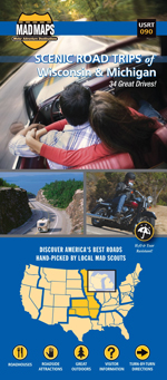 Wisconsin and Michigan Scenic Road Trips