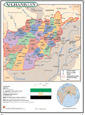 Afghanistan Wall Map