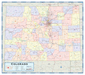 Colorado Counties Wall Map