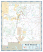 New Mexico Highway Wall Map