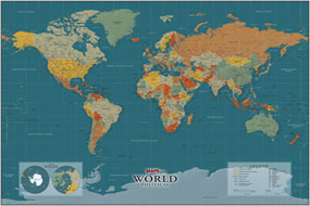 World New Century Map