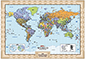 Personalized World Wall Map