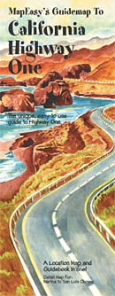 California Highway 1 Guidemap