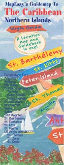 Caribbean, Northern Islands Guidemap