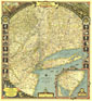 Reaches Of New York City Map 1939