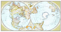 Northern And Southern Hemispheres Map
