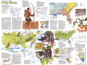 Deep South Map 1983 Side 2
