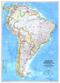 South America Map 1992