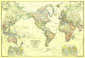World Map 1922