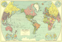 World Map 1932