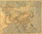Asia Map 1933