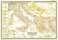 Classical Lands Of The Mediterranean Map 1949