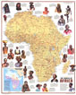 Ethnolinguistic Map Of The Peoples Of Africa Map 1971
