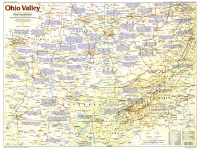 Ohio Valley Map 1985 Side 1