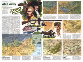 Making Of America, Ohio Valley Map 1985