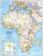 Africa Map 1990