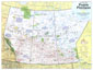 Prairie Provinces Map Side 1 1994
