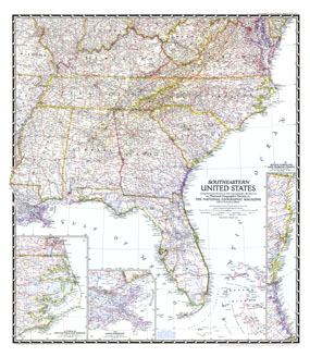 Road Map South East Usa Images Southeastern United States - Road map southeast us