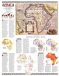Africa, Its Political Development Map 1980