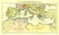 Countries Bordering The Mediterranean Sea Map 1912