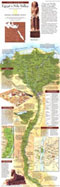 Egypts Nile Valley North Map 1995