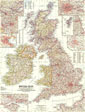 British Isles Map 1958