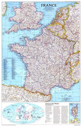 France Map 1989