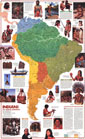 Indians Of South America Map 1982