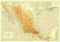 Mexico Map 1914