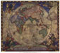 Map of Discovery-Eastern Hemisphere Framed Map