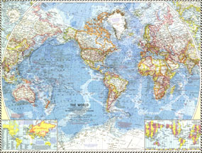 World Map 1960