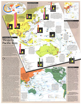 Western Pacific Rim Map 1989